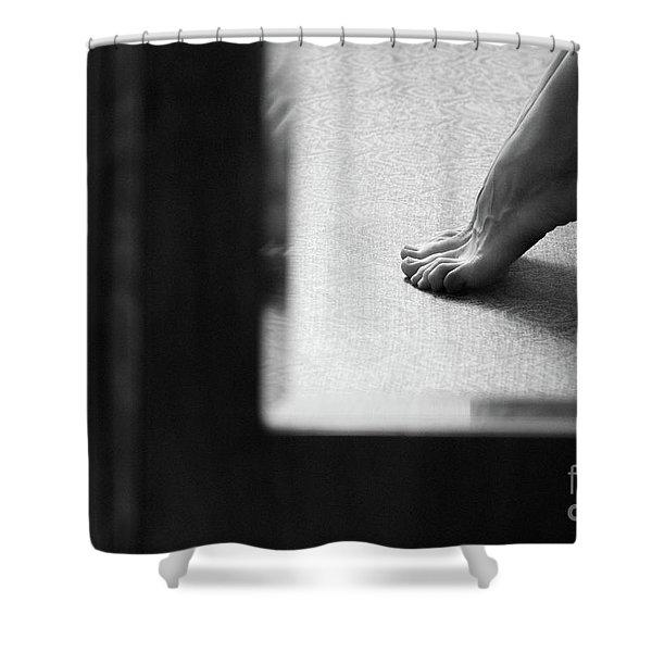 Mirror #6991 Shower Curtain