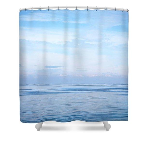 Mirror Calm 1 Shower Curtain