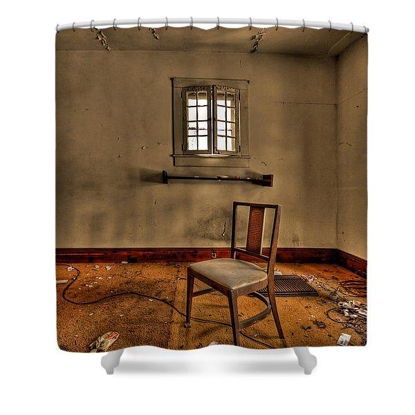 Misery Needs Company Shower Curtain