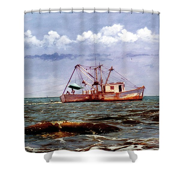 Miss Christy Shower Curtain