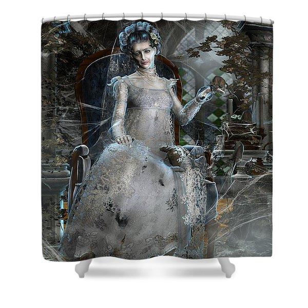 Miss. Havisham Shower Curtain