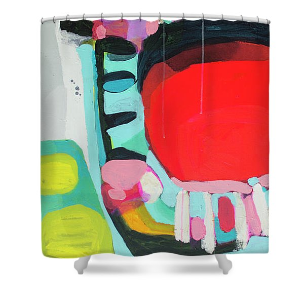 Missed Call Shower Curtain