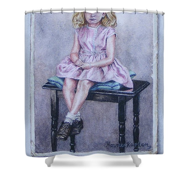 Missing Daddy, Devonshire 1940 Shower Curtain