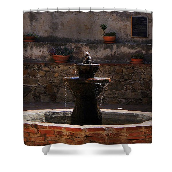 Mission Bells Shower Curtain