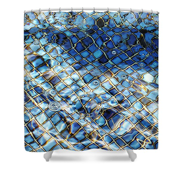 Mission San Buenaventura Mosaic Shower Curtain