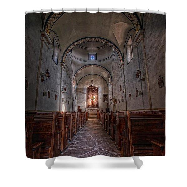 Mission San Jose Shower Curtain