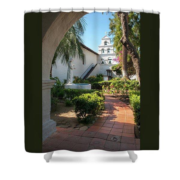 Mission Walk Shower Curtain