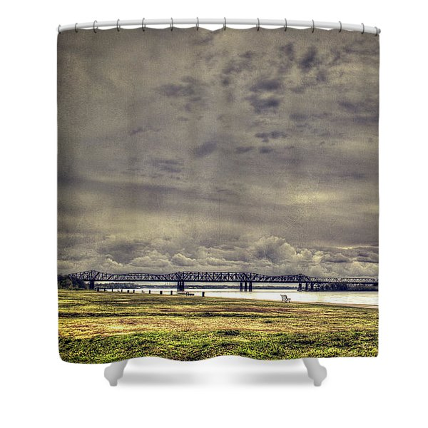 Mississipi River Shower Curtain