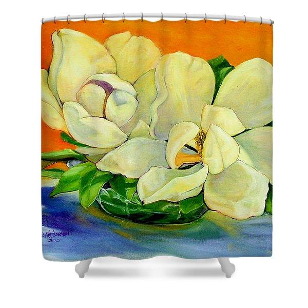 Mississippi Magnolias Shower Curtain