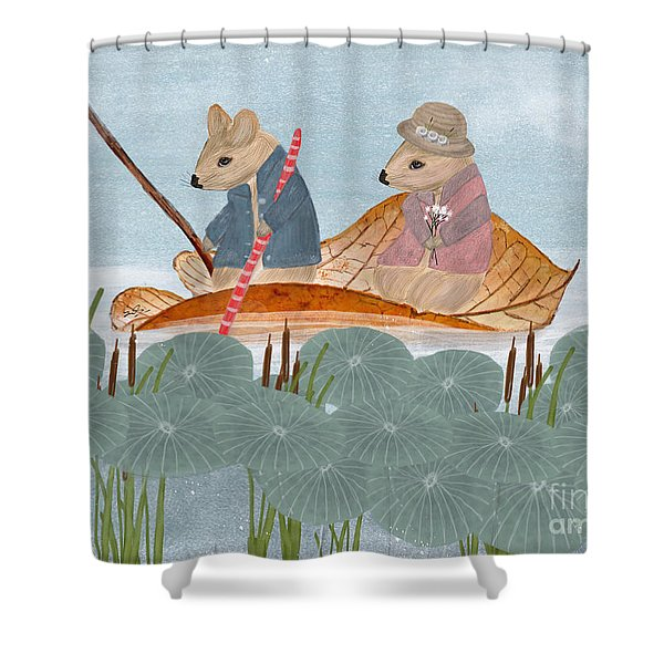Mississippi Mice Shower Curtain