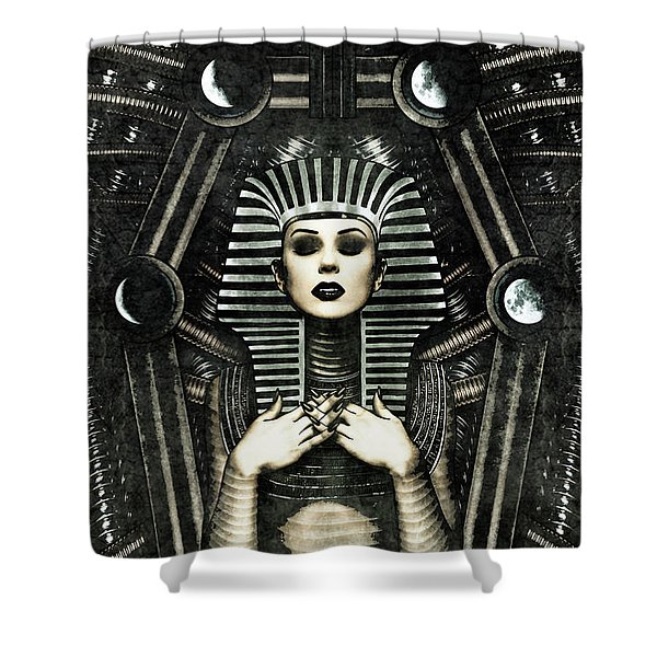 Mistress Of The House Shower Curtain