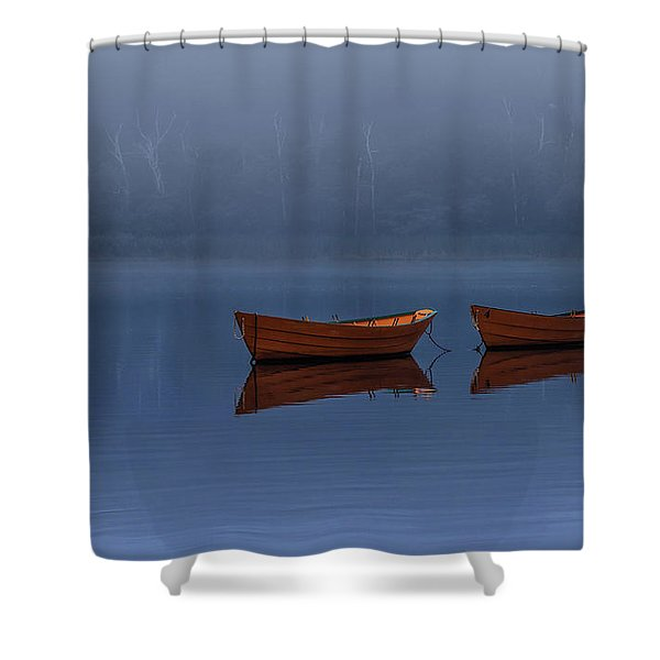 Mists Of Time Shower Curtain