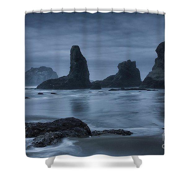 Misty Coast Shower Curtain