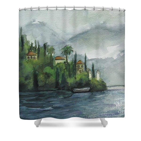 Misty Island Shower Curtain