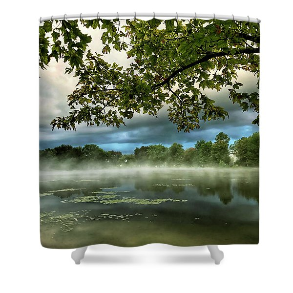 Misty Morn Shower Curtain