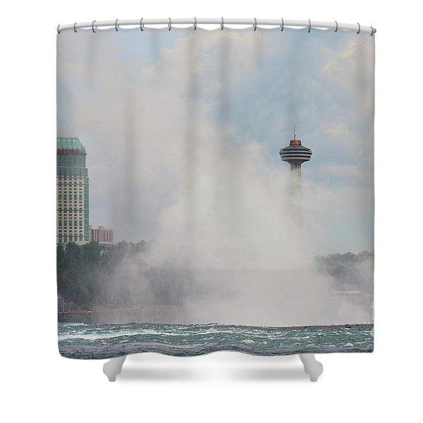 Misty Skylon Shower Curtain