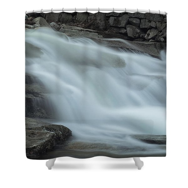Misty Stickney Brook Shower Curtain