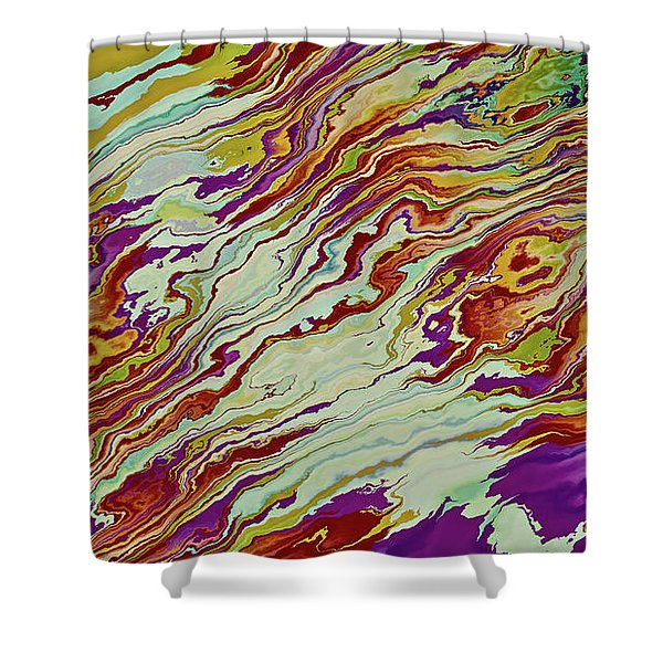Mixed Shower Curtain