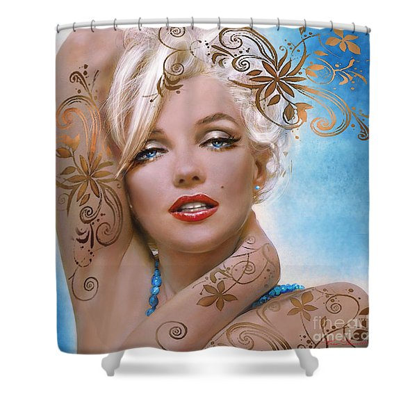 Mm 127 Deco Shower Curtain