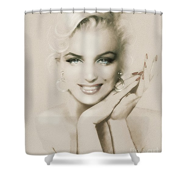 Mm 133 Sepia Shower Curtain