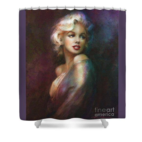 Mm Ww Colour Shower Curtain