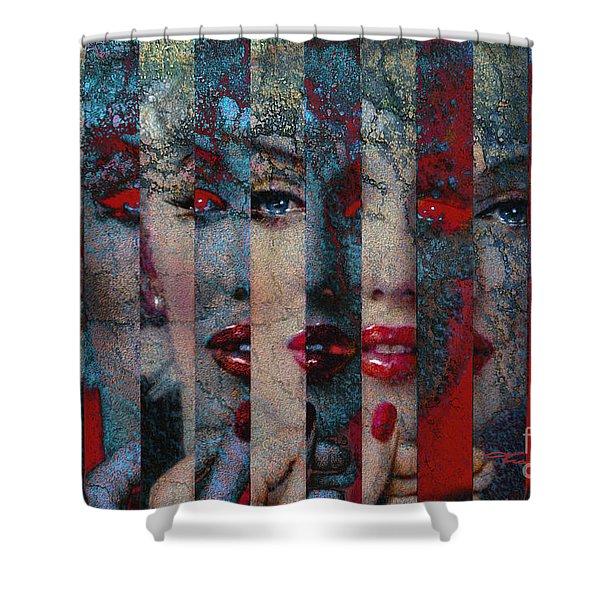 Mmarilyn 132 Sis Shower Curtain