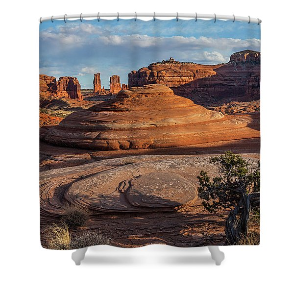 Moab Back Country Shower Curtain