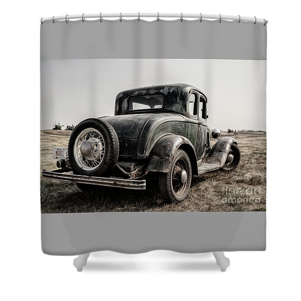 Model A Shower Curtain