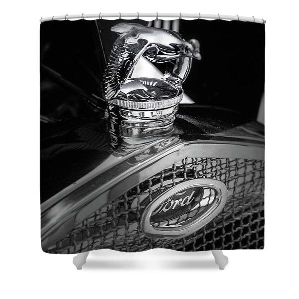 Model A Quail Shower Curtain