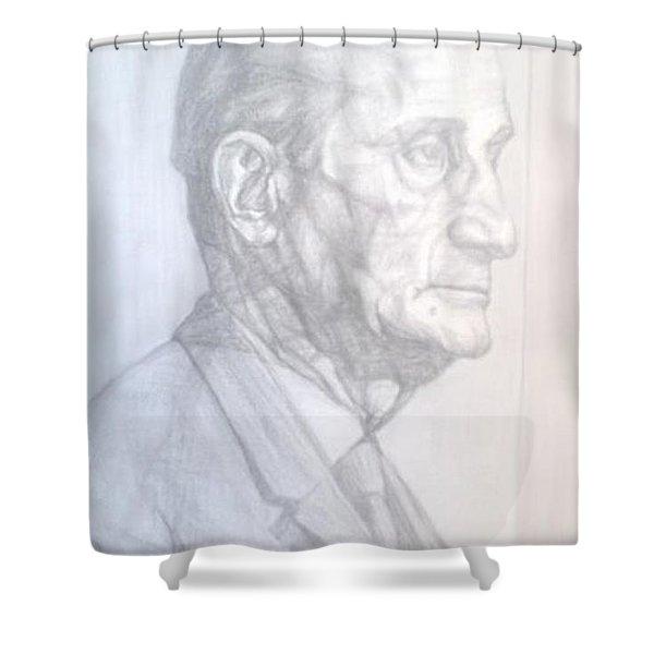 Model Shower Curtain