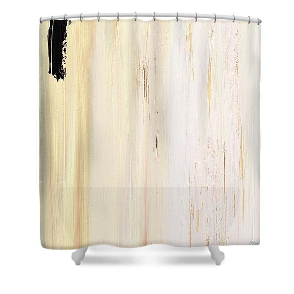 Modern Art - The Power Of One Panel 3 - Sharon Cummings Shower Curtain