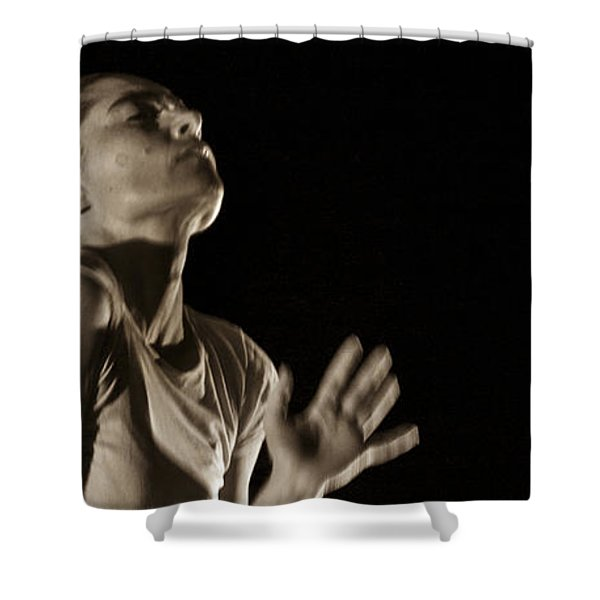Shower Curtain featuring the photograph Modern Dance 12 by Catherine Sobredo