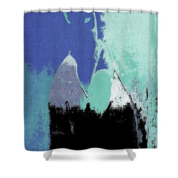 Abstract Portrait - 87t1dc7b Shower Curtain