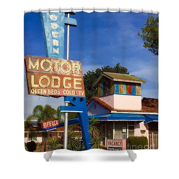 Modern In Lodi Shower Curtain
