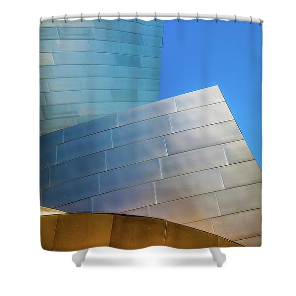 Modern Rock Shower Curtain