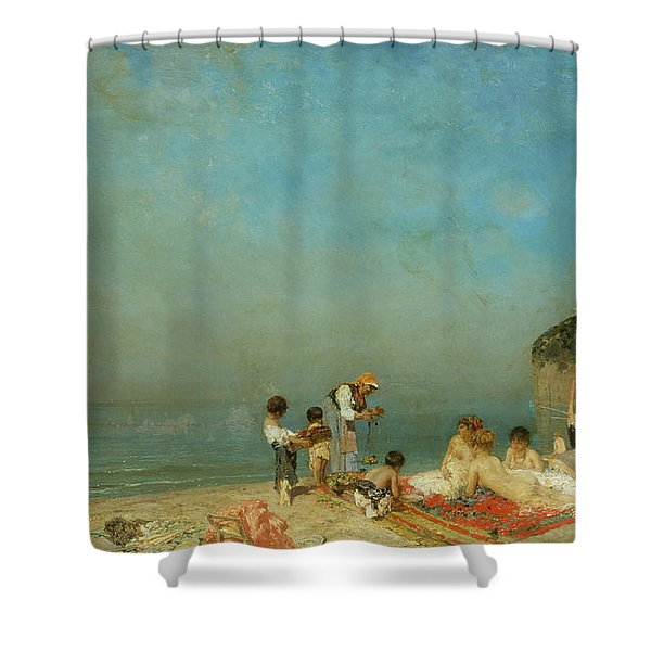 Modern Sirens Shower Curtain