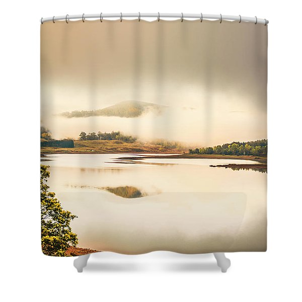 Moina Morning Shower Curtain