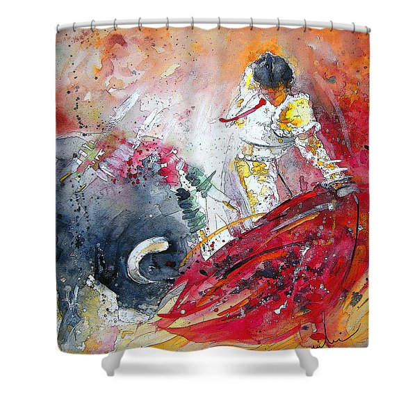 Moment Of Truth 2010 Shower Curtain