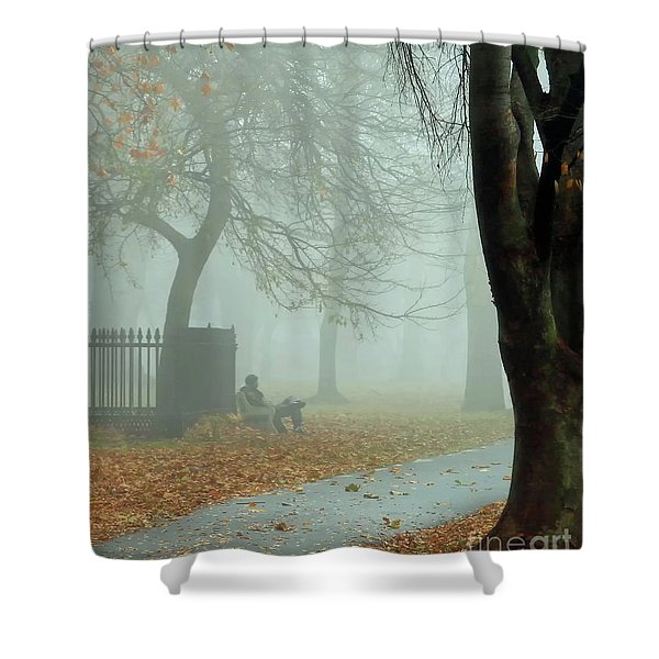 Moments Alone Shower Curtain
