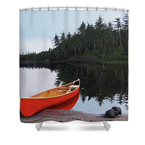 Moments Of Peace Shower Curtain
