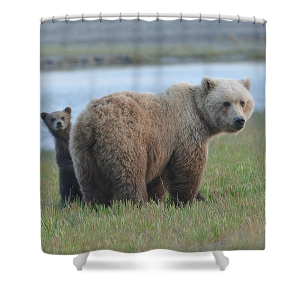 Mommy Day Care Shower Curtain