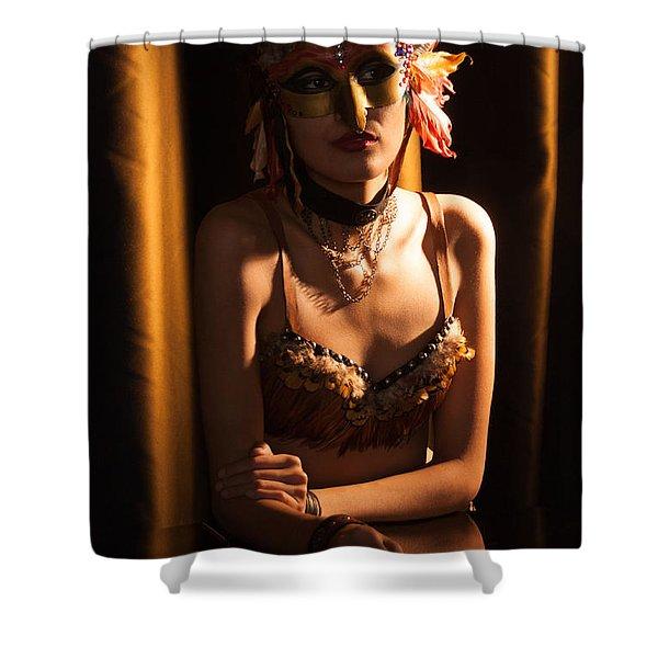 Mona 2 Shower Curtain