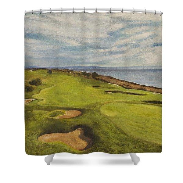 Monarch Bay Golf Course Shower Curtain