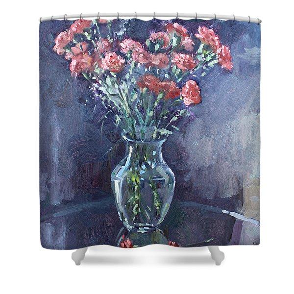 Monda's Bouqet For Viola Shower Curtain