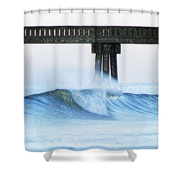 Monday At Mercer's Shower Curtain