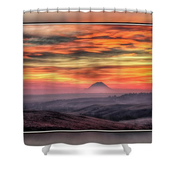 Monet Morning Shower Curtain