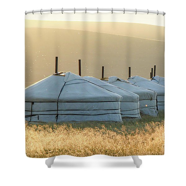 Mongolia Shower Curtain