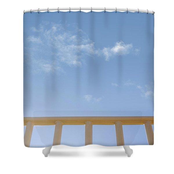 Monkey Bars Shower Curtain
