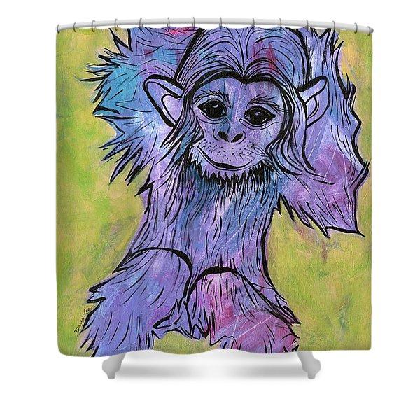 Monkey Mischief Shower Curtain