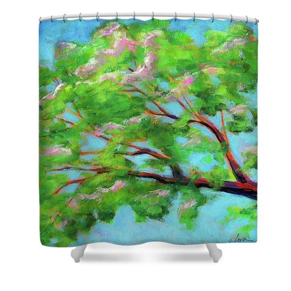 Monkeypod Dawn Shower Curtain